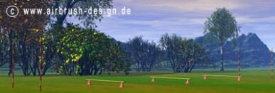 Hordenloop parcours Breitensport